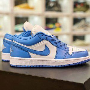 """Nike Air Jordan 1 Low """"Royal Blue ToeAJ1 Jordan generation low-cut classic retro"""